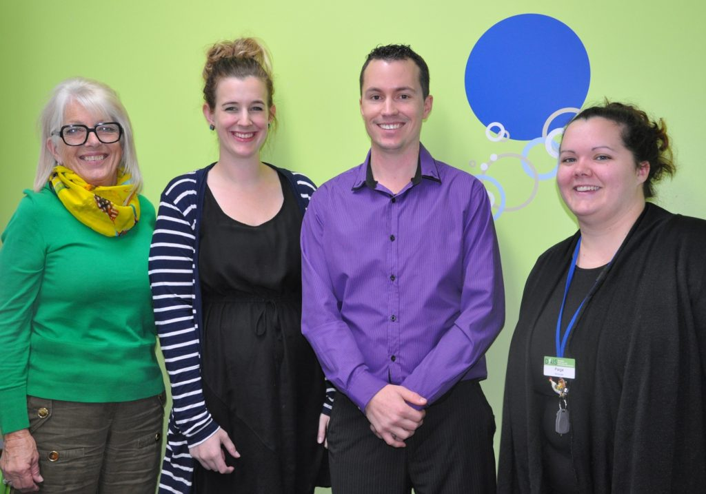 Junction staff pictured with Regional Disability Advocacy Service staff