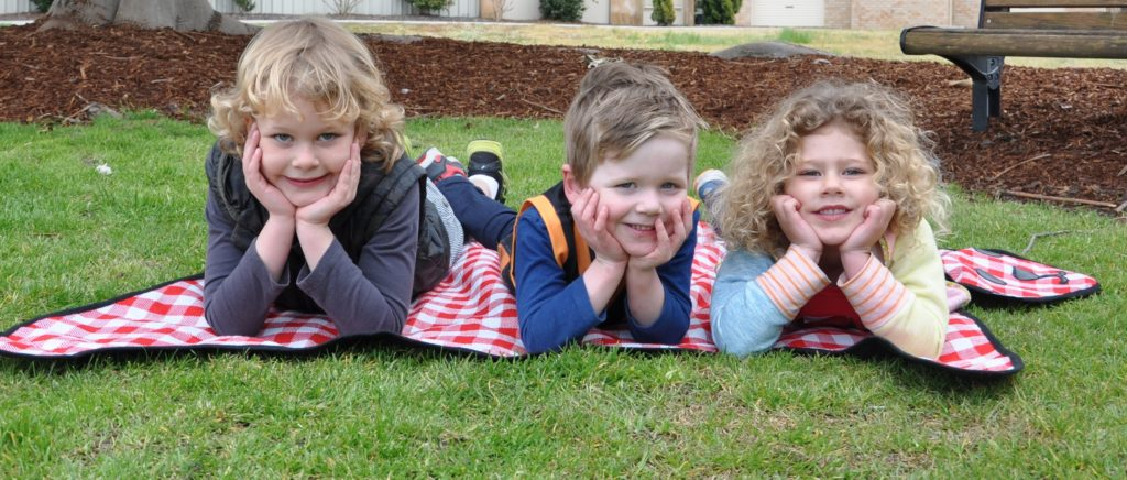 Image of children excited about Wodonga Children's Fair